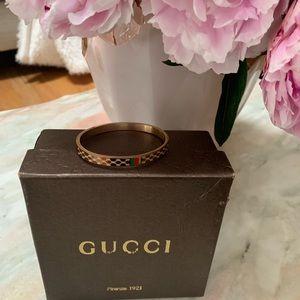 Gucci rose gold bracelet